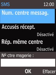 Nokia 220 - SMS - Configuration manuelle - Étape 9