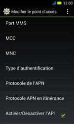 Acer Liquid Z4 - Mms - Configuration manuelle - Étape 13
