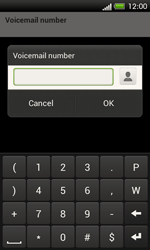 HTC C525u One SV - Voicemail - Manual configuration - Step 7