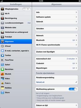 Apple The New iPad - Internet - Uitzetten - Stap 3