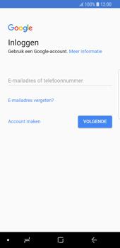 Samsung Galaxy S9 (SM-G960F) - Applicaties - Account aanmaken - Stap 4