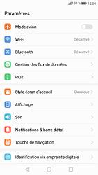 Huawei P9 - Android Nougat - Réseau - Activer 4G/LTE - Étape 3