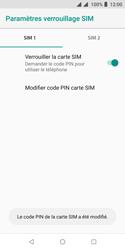 Wiko Harry 2 - Sécurité - modifier SIM PIN - Étape 11