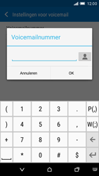HTC One M9 (Model 0PJA100) - Voicemail - Handmatig instellen - Stap 9