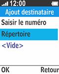 Bouygues Telecom Bc 211 - Contact, Appels, SMS/MMS - Envoyer un SMS - Étape 8