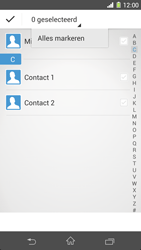 Sony C6903 Xperia Z1 - Contactgegevens overzetten - delen via Bluetooth - Stap 8