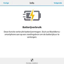 BlackBerry Passport - WiFi - Mobiele hotspot instellen - Stap 8