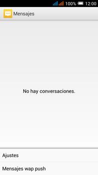 Alcatel Pop C9 - Mensajería - Configurar el equipo para mensajes de texto - Paso 5