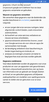 Samsung Galaxy Note 8 (N950) - Applicaties - Account aanmaken - Stap 16