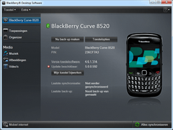 BlackBerry 8520 Curve - Software - Update installeren via PC - Stap 17
