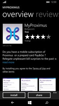 Microsoft Lumia 640 XL - Applications - MyProximus - Step 8