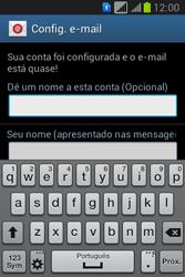 Samsung S6293T Galaxy Young Plus - Email - Como configurar seu celular para receber e enviar e-mails - Etapa 19