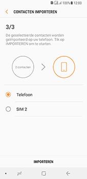 Samsung galaxy-a8-2018-sm-a530f-android-oreo - Contacten en data - Contacten kopiëren van SIM naar toestel - Stap 13