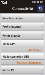 LG GD900 Crystal - MMS - Configuration manuelle - Étape 8