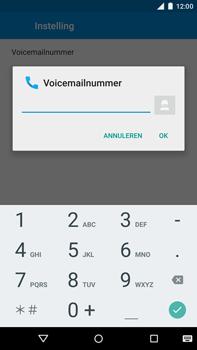 Motorola Moto X Style - Voicemail - Handmatig instellen - Stap 10