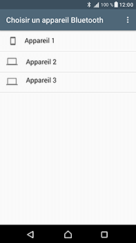 Sony Xperia XA1 Ultra - Photos, vidéos, musique - Envoyer une photo via Bluetooth - Étape 14