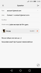 Huawei Y6 (2017) - E-mail - e-mail versturen - Stap 16