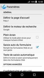 Acer Liquid Z330 - Internet - Configuration manuelle - Étape 25