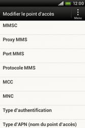 HTC A320e Desire C - MMS - configuration manuelle - Étape 12