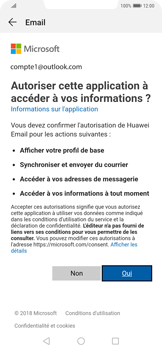 Huawei Mate 20 Pro - E-mail - 032c. Email wizard - Outlook - Étape 7