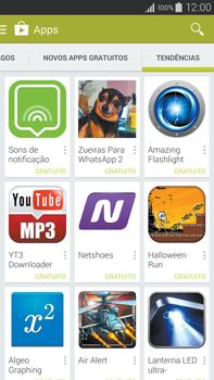 Samsung N910F Galaxy Note 4 - Aplicativos - Como baixar aplicativos - Etapa 13