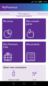 Huawei Mate S - Applications - MyProximus - Étape 12