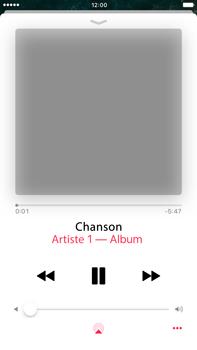 Apple iPhone 7 Plus - Photos, vidéos, musique - Ecouter de la musique - Étape 6