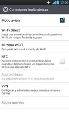 LG Optimus L9 - Funciones básicas - Activar o desactivar el modo avión - Paso 7
