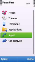 Nokia C6-00 - Messagerie vocale - configuration manuelle - Étape 5
