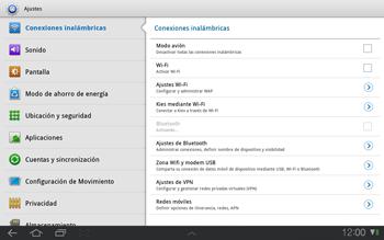 Samsung P7500 Galaxy Tab 10-1 - Internet - Configurar Internet - Paso 4