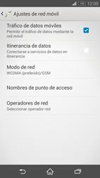 Sony Xperia Z3 - Red - Seleccionar el tipo de red - Paso 6