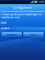 Sony Ericsson Xperia X10 Mini - MMS - automatisch instellen - Stap 4