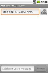 LG GW620 - MMS - envoi d'images - Étape 5