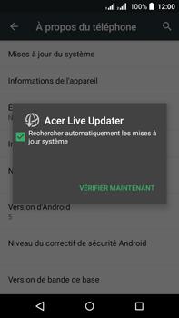 Acer Liquid Z630 - Appareil - Mises à jour - Étape 7