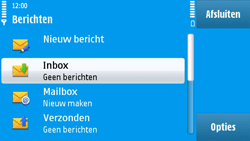 Nokia N97 - MMS - probleem met ontvangen - Stap 4