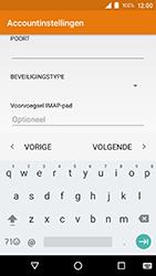 Crosscall Action X3 - E-mail - e-mail instellen: IMAP (aanbevolen) - Stap 15