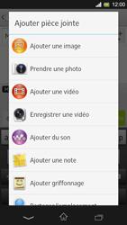 Sony Xpéria SP - Contact, Appels, SMS/MMS - Envoyer un MMS - Étape 14