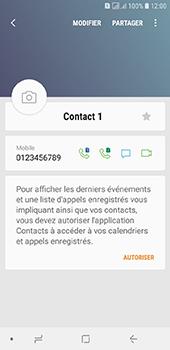 Samsung Galaxy J6 - Contact, Appels, SMS/MMS - Ajouter un contact - Étape 10