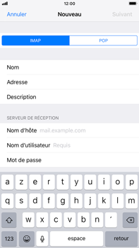 Apple iPhone 6s Plus - iOS 12 - E-mail - Configuration manuelle - Étape 13