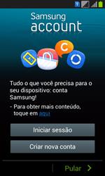 Samsung GT-I8552B Galaxy Win Duos - Primeiros passos - Como ativar seu aparelho - Etapa 7