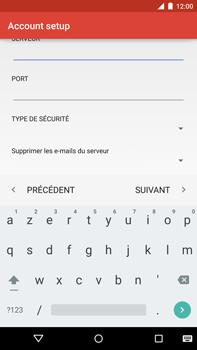 Motorola Nexus 6 - E-mail - Configuration manuelle - Étape 16
