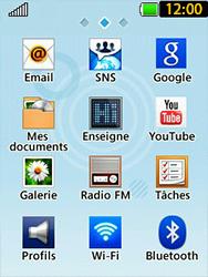 LG T580 - E-mails - Ajouter ou modifier un compte e-mail - Étape 3