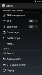 Acer Liquid Z410 - WiFi and Bluetooth - Manual configuration - Step 4