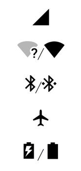 Motorola One - Funções básicas - Explicação dos ícones - Etapa 2