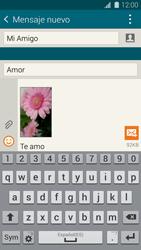 Samsung G900F Galaxy S5 - Mensajería - Escribir y enviar un mensaje multimedia - Paso 19