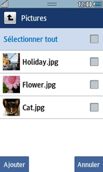 Samsung Wave 723 - Photos, vidéos, musique - Envoyer une photo via Bluetooth - Étape 8