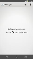 Sony Xperia Z1 - Mensajería - Escribir y enviar un mensaje multimedia - Paso 4