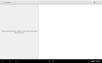 Sony Xperia Tablet Z - Mensajería - Escribir y enviar un mensaje multimedia - Paso 4