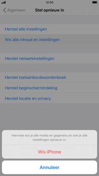 Apple iphone-8-plus-met-ios-13-model-a1897 - Instellingen aanpassen - Fabrieksinstellingen terugzetten - Stap 6