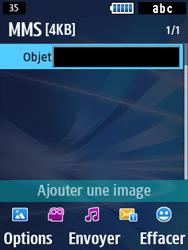 Samsung Solid 271 - Contact, Appels, SMS/MMS - Envoyer un MMS - Étape 11